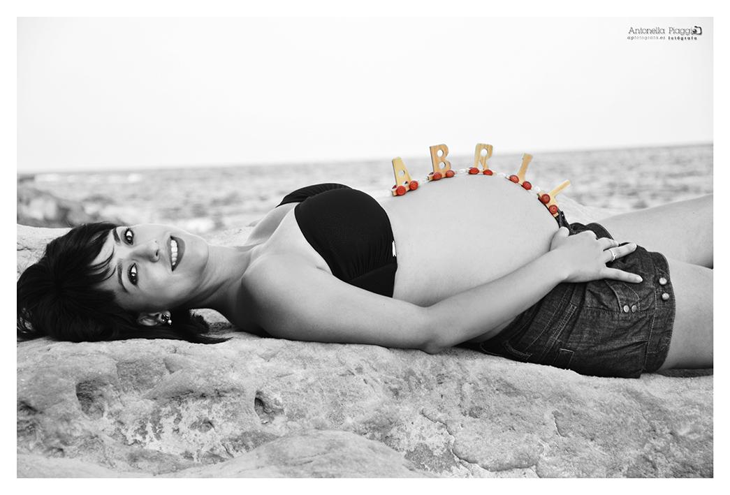 Reportaje Exteriores Embarazo ELENA_ApFotografa 375 ByN